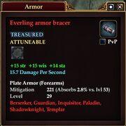 Everling armor bracer