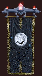 Ghoulish Night Tapestry (Visible)