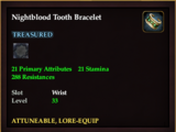 Nightblood Tooth Bracelet