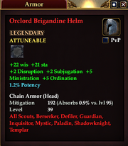 Orclord Brigandine Helm