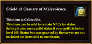 Shield of Ossuary of Malevolence