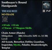Soothsayer's Bound Handguards