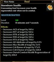 Stormborn Souffle