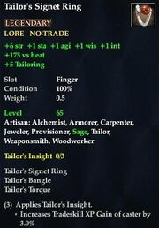 Tailor's Signet Ring