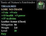 Tunic of Nature's Fatebinder