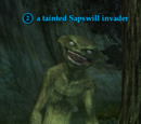 A tainted Sapswill invader