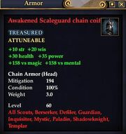 Awakened Scaleguard chain coif
