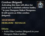 Cerebus (Brigand)