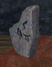 Evocation stone
