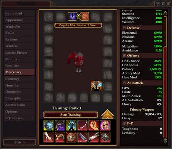 Mercenary-window-gear-training