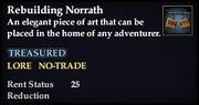 Rebuilding Norrath