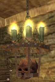 Sinister chandelier (Visible)