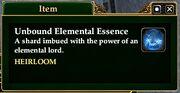 Unbound Elemental Essence