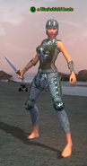 A Blackshield brute (Timorous Deep) (half elf)