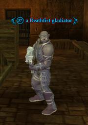 A Deathfist gladiator
