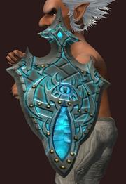 Battlerager's Frozen Tower Shield (Equipped)
