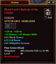 Blood Lord's Barbute of the Citadel