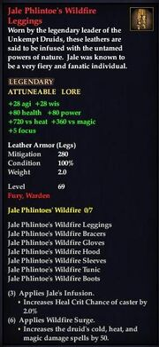 Jale Phlintoe's Wildfire Leggings