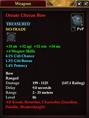 Ornate Ulteran Bow