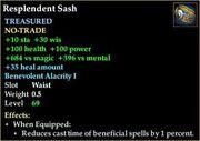 Resplendent Sash