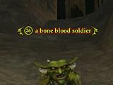 A bone blood soldier