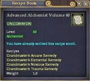 Advanced Alchemist Volume 60