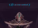 An iron sentinel