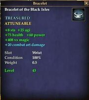 Bracelet of the Black Isles