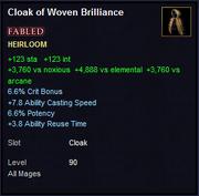 Cloak of Woven Brilliance