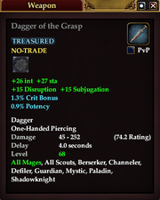 Dagger of the Grasp (68)