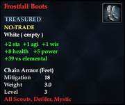 Frostfall Boots