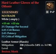 Hard Leather Gloves of the Othmir