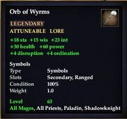Orb of Wyrms