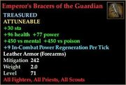 Emperor's Bracers of the Guardian