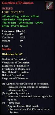 Gauntlets of Divination