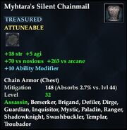 Myhtara's Silent Chainmail