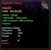 Nightfall Gloves