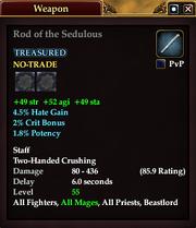 Rod of the Sedulous