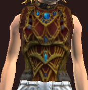 Vesspyr Warrior's Red Breastplate (Equipped)