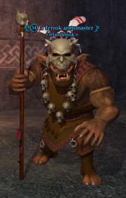 A Terrok armsmaster
