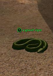 A gravel viper