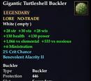 Gigantic Turtleshell Buckler