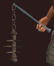 Iron Flail (Equipped)