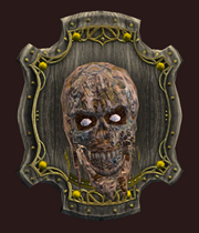 Zombie Wall Trophy (Visible)