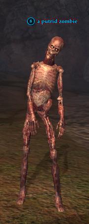 A putrid zombie