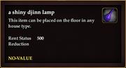 A shiny djinn lamp (no-value)