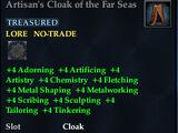 Artisan's Cloak of the Far Seas