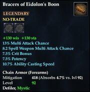 Bracers of Eidolon's Boon