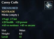 Canny Cuffs