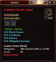 Combine Ascetic Hood
